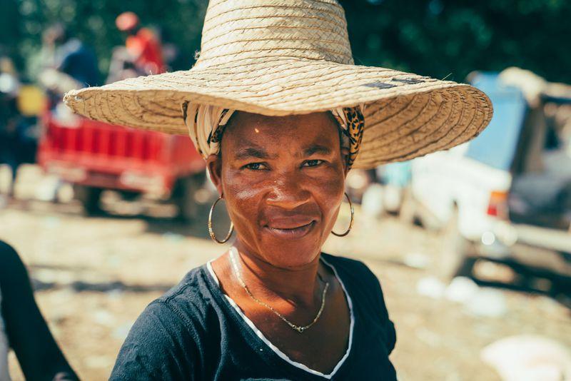 Haitian Woman Portrait