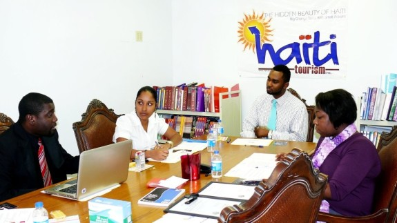 Haiti tourism Inc-staff meeting