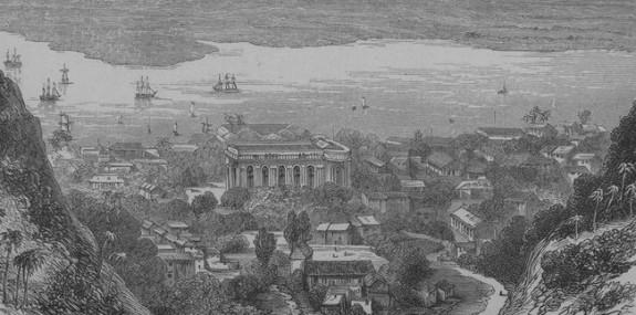 haiti 1870s-cap haitien view